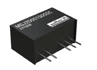 Typical 2 W IGBT driver DC-DC converter figure